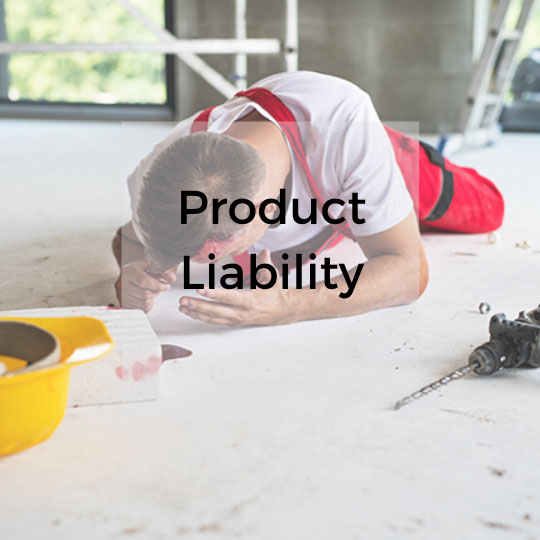 Product liability services