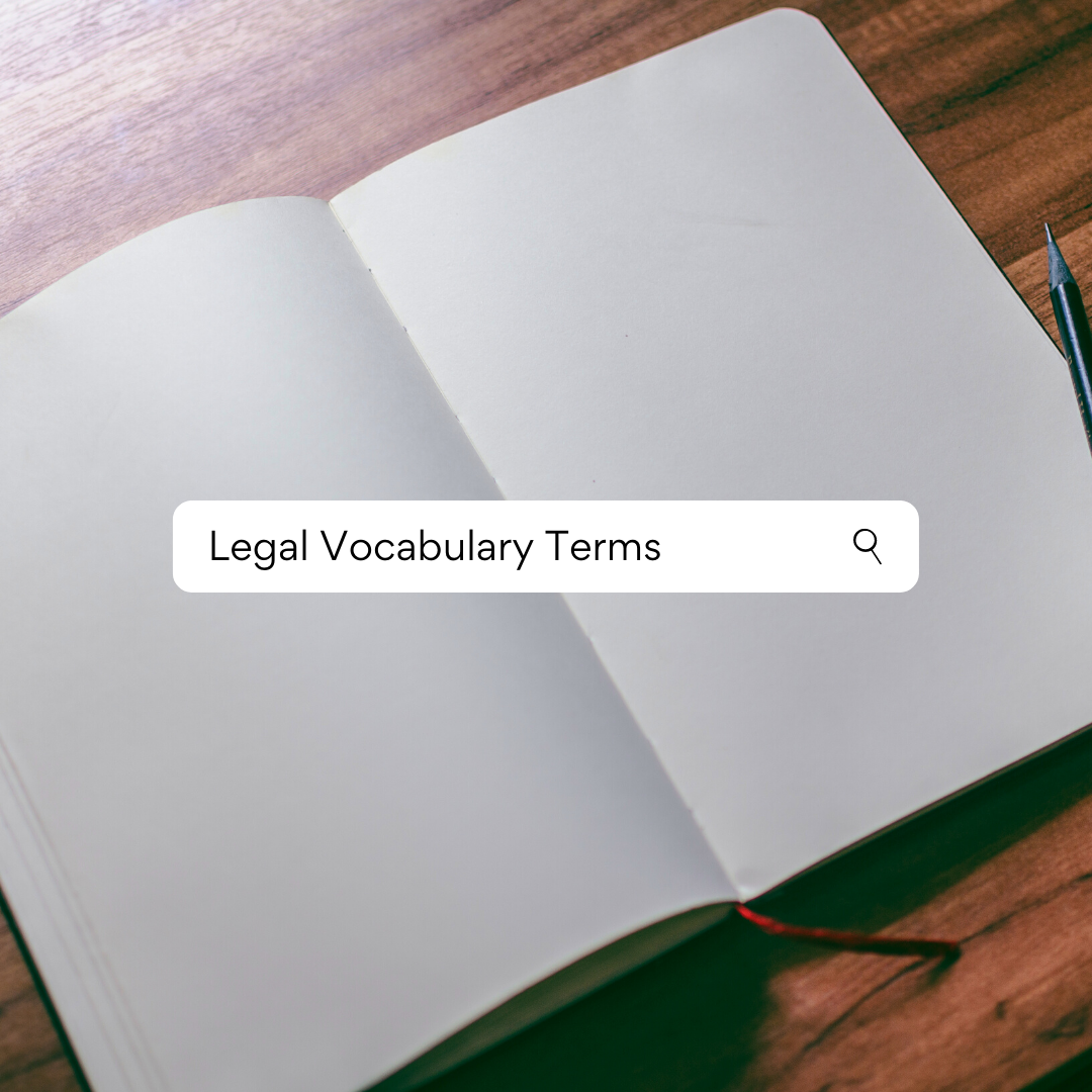 searching legal vocabulary terms